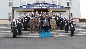 Emniyet Genel Müdürü Sayın Mehmet Aktaş Ağrı İlinde Bir Dizi Ziyaret Gerçekleştirdi