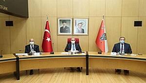 Emniyet Genel Müdürü Sayın Mehmet Aktaş Başkanlığında Genişletilmiş Koordinasyon Toplantısı Düzenlendi
