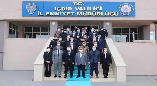 Emniyet Genel Müdürü Sayın Mehmet Aktaş Iğdır İlinde Bir Dizi Ziyaret Gerçekleştirdi