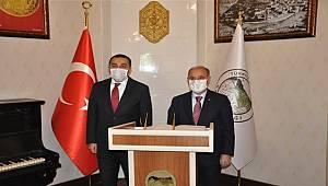 Emniyet Genel Müdürü Sayın Mehmet Aktaş Kars İlinde Bir Dizi Ziyaret Gerçekleştirdi