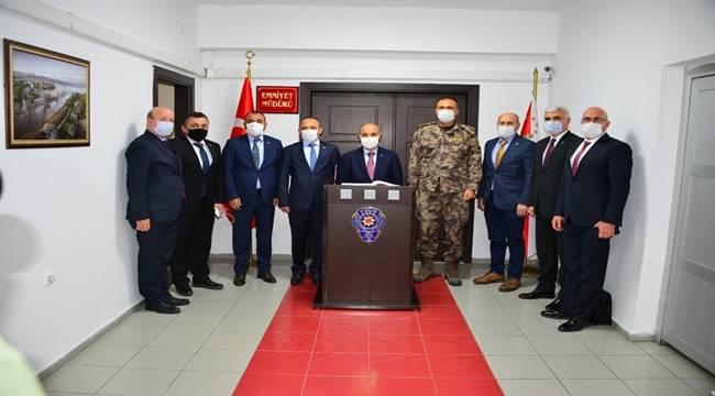 Emniyet Genel Müdürümüz Sayın Mehmet Aktaş Ardahan İl Emniyet Müdürlüğünü Ziyaret Etti