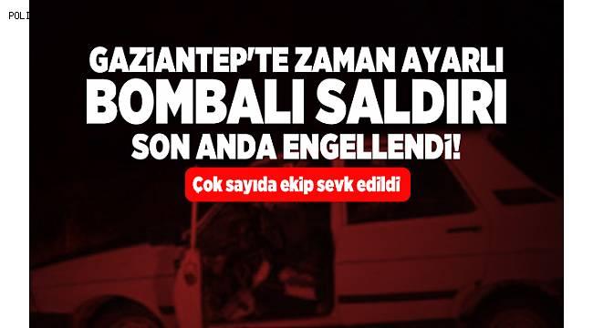 Gaziantep Karşıyaka'da Bombalı Saldırı Son Anda Önlendi
