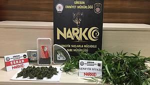 Giresun Emniyet Müdürlüğü Uyuşturucu İle Mücadelemiz Devam Ediyor