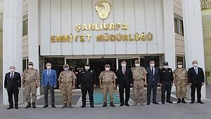 Jandarma Genel Komutanı Orgeneral Sayın Arif ÇETİN'in Makam Ziyareti