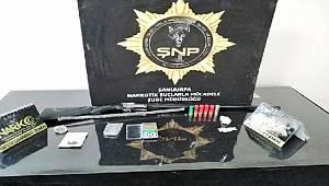 Şanlıurfa'da dron destekli uyuşturucu operasyonu düzenlendi 9 gözaltı