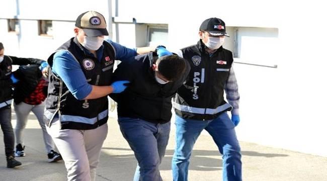 Adana KOM Şube Müdürlüğü ekipleri silah kaçakçısı suç örgütüne operasyon 7 tutuklama
