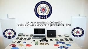 İnternet Üzerinden Yasa Dışı Bahis Oynatan Suç Örgütü Çökertildi