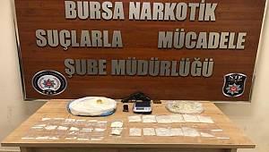 Narkotik Suçlarla Mücadele Şube Müdürlüğümüzce düzenlenen operasyonlarda bir şahıs yakalandı