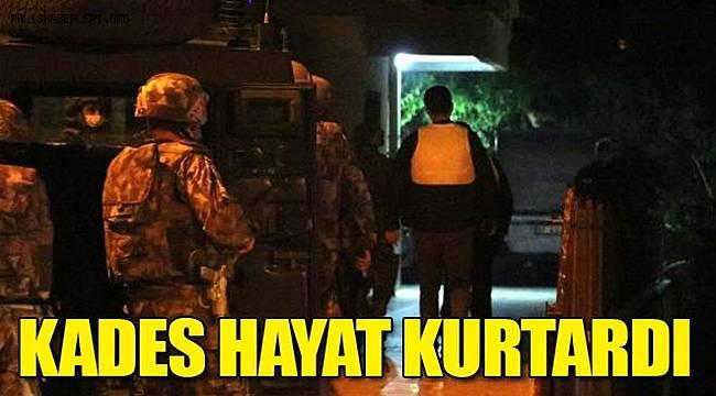 Antalya'da KADES Hayat Kurtardı