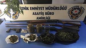 İznik İlçe Emniyet Müdürlüğümüzce düzenlenen operasyonda 4 şahıs yakalandı.