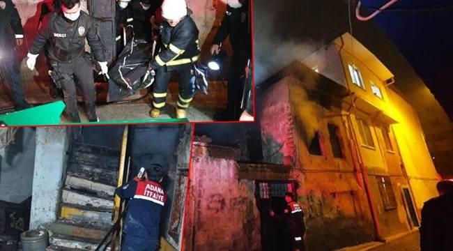 Adana'da Evde Çıkan Yangında Cansız Bedeni Bulundu