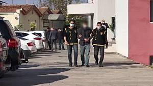 Adana'da Yakalanan motosikletli kapkaç şüphelisi tutuklandı