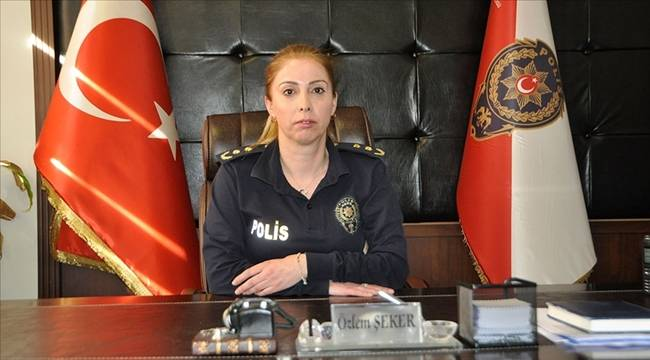 Adana'nın İlk Kadın İlçe Emniyet Müdürü Şehit Kızı Göreve Başladı