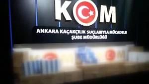 Ankara'da Tarihi geçmiş ürünleri satan dolandırıcılar yakayı ele verdi