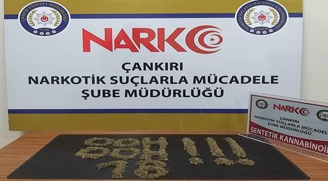 Çankırı Emniyet Müdürlüğü Narkotik Şube 2021/Ocak Faaliyetleri