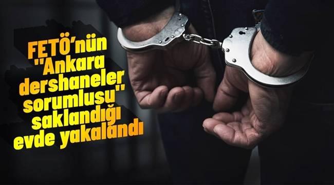 Etimesgutta FETÖ'nün 'Ankara dershaneler sorumlusu' yakalandı
