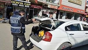 İslahiye'de Polisten Huzur ve Güven Uygulaması
