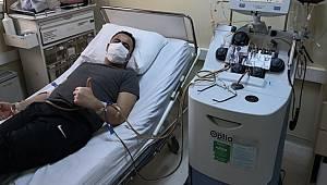 Kozan İlçe Emniyet Müdürü Ferdi Büyükatak Kök Hücre Bağışıyla Hasta Çocuğa Umut Oldu