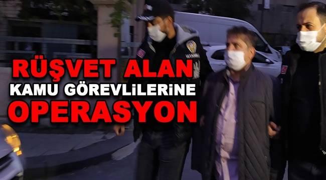 Mali Şube Müdürlüğü ekipleri ''Rüşvet'' konusu ile ilgili düzenlediği eş zamanlı operasyonda 37 kişi tutuklandı