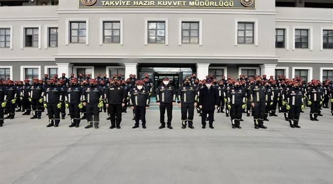 """""""Polis Arama Kurtarma"""" Birimi Açılış Töreni Gerçekleştirildi."""