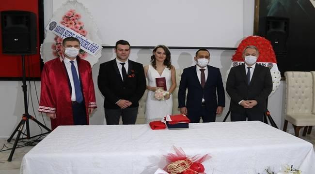 Polis Memurları Soner TARIKUSTAOĞLU ve Rabia SÖNMEZDAĞ Çifti Evlendiler