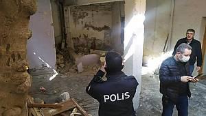 Gaziantep'te Çöken duvarın altında kalan işçi hayatını kaybetti