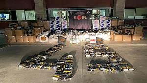 KOM Şube Ekipleri Kaçak Tütün Operasyonunda 1 Şüpheliyi Gözaltına aldı