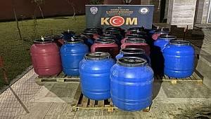Manisa'da 3.5 ton Sahte İçki ele geçirildi