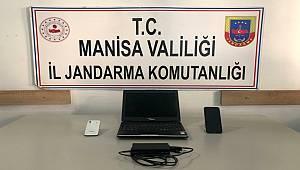 Manisa'da Jandarmanın düzenlediği Operasyonda 1 Şüpheli Gözaltına alındı