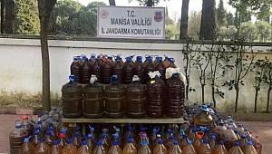 Manisa'da JASAT ekipleri Kaçak Alkol ele geçirdi