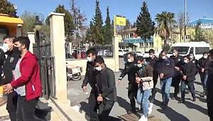 Şanlıurfa Merkezli 10 ilde düzenlenen terör operasyonunda 13 kişi tutuklandı