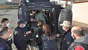 Şanlıurfa Merkezli 9 ilde TEM Şube ekiplerince düzenlenen Operasyonda 17 şahıs yakalanmıştır