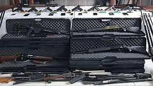 Trabzon merkezli silah kaçakçılığı operasyonunda 9 kişi gözaltına alındı