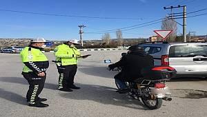 Ülke genelinde eş Zamanlı Olarak Motosiklet ve Motorlu Bisiklet Denetimi Gerçekleştirildi