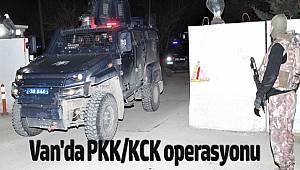 Van'da PKK/KCK Terör Örgütü operasyonunda 27 şüpheli gözaltına alınmıştır