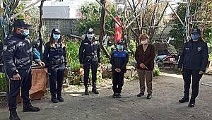 Adana İl Emniyet Müdürü İnci'den polislik hayali kuran çocuğa