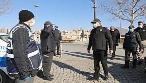 Konya İl Emniyet Müdürü Mustafa Aydın Denetimlerde Bulundu