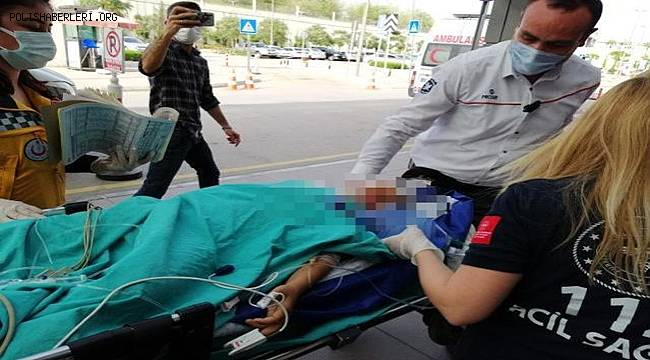 Adana'da Evde başından tabancayla vurulan çocuk ağır yaralandı