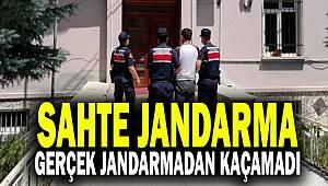 Antalya'da kendini Jandarma olarak tanıtan Dolandırıcı Jandarmadan kaçamadı
