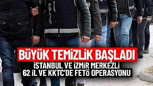 FETÖ'nün TSK yapılanmasına yönelik 62 ilde düzenlenen operasyonda 168 şüpheli gözaltına alındı