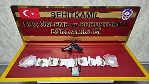 Gaziantep'te 52 ayrı suç kaydı bulunan zanlı yakalandı