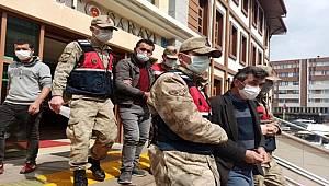 Giresun'da 86 bin TL değerinde kablo çalan 2 şahıs tutuklandı