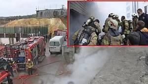 İstanbul'da Alevlerin her yanı sardığı depoda 4 kişi hayatını kaybetti