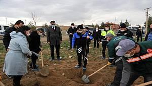 Polis Teşkilatı İçin Gölbaşı'nda ağaç dikimi gerçekleştirildi