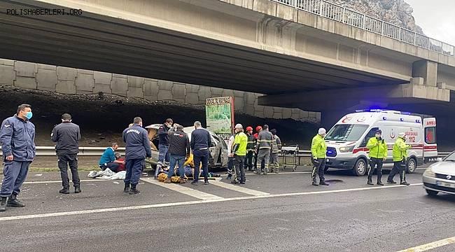 Pozantı'da Tır ile otomobilin çarpışması sonucu 1 kişi hayatını kaybetti