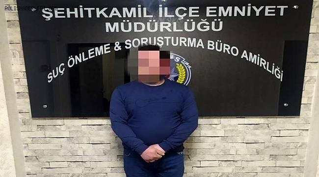 Şehitkamil ilçesinde uyuşturucu zanlısı yakalandı
