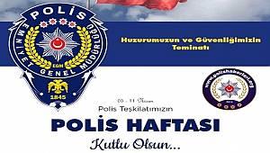 Türk Polis Teşkilatımızın Polis Haftası Kutlu Olsun