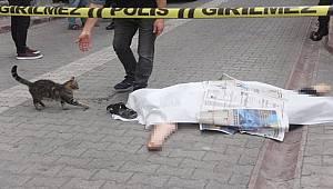 Adana'da 9 katlı iş hanının çatısından düşen kadın hayatını kaybetti