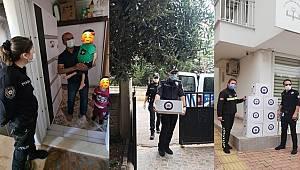 """Antalya Polisi ve Eşleri """"Yan Yana Olamasak da Biz Bir Aileyiz"""""""