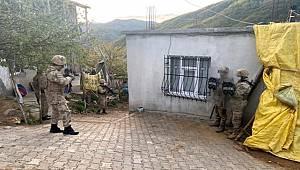Bitlis merkezli 4 ilde düzenlenen PKK operasyonunda 9 gözaltı